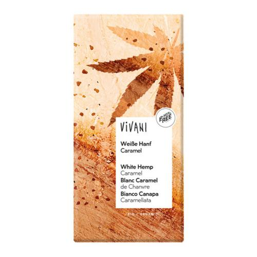 Chocolate blanco con cañamo Vivani