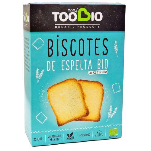 biscotes de espelta bio Toobio