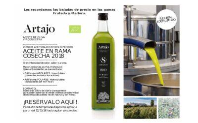 Aceite de oliva virgen extra Artajo