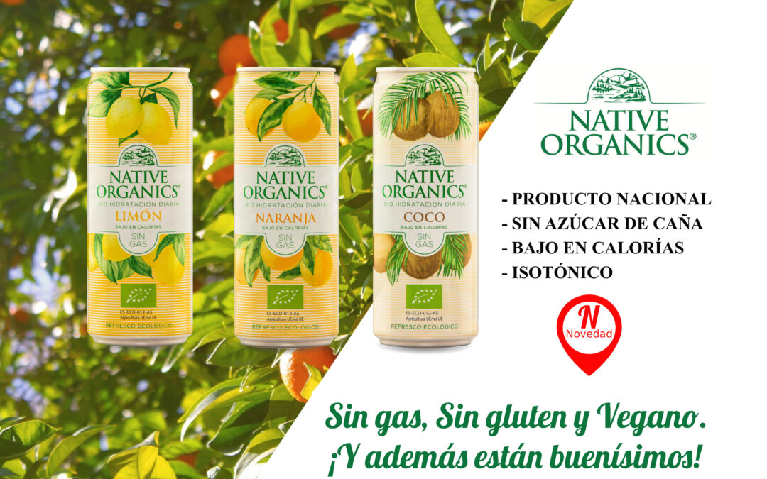 Ofertas refrescos Native Organics