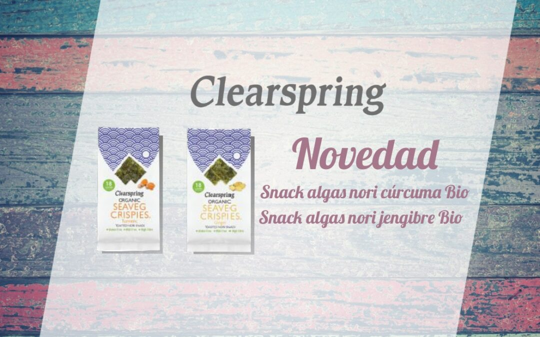 Oferta Snacks Clearspring