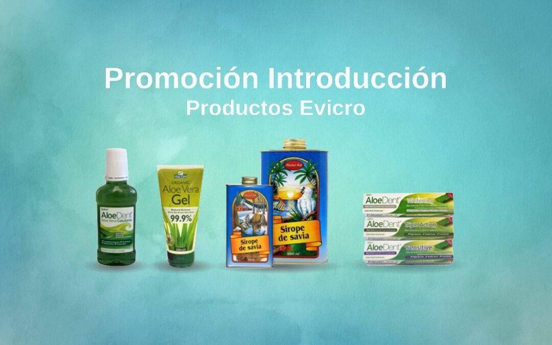 Promoción introducción productos Evicro